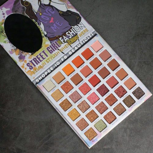 پالت سایه 36 رنگ گلازی
