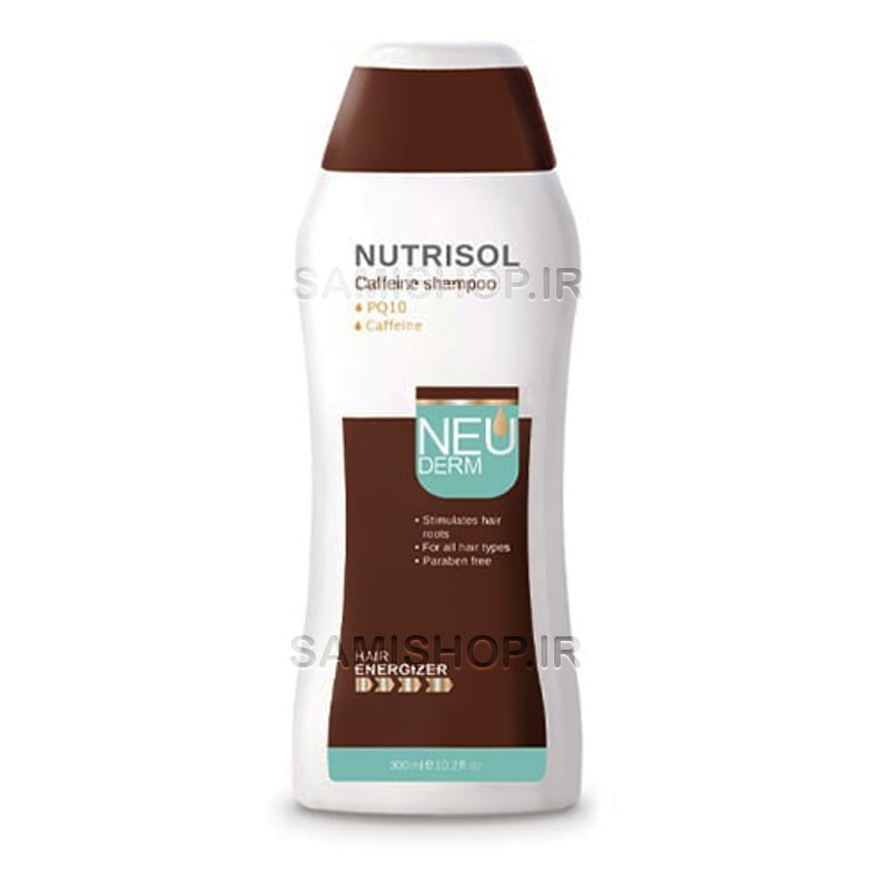 شامپو ضد ریزش مو نوتریسول کافئین نئودرم : شامپو ضد ریزش نوتریسول کافئین نئودرم با بهرهگیری از کافئین در کنار ترکیبات تقویت کننده ضد پیشگیری از ریزش مو به رشد مجدد موها نیز کمک میکند.